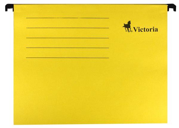 Victoria Závěsné zakládací desky A4 - žluté
