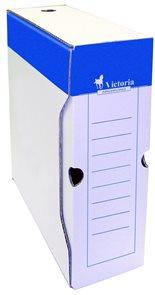 Victoria Archivační box bílá lepenka - 10cm
