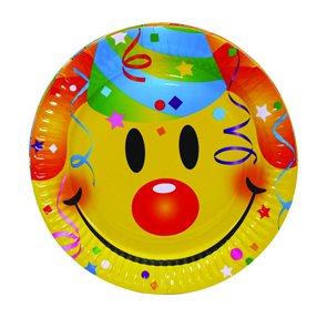 Talíř plastový Smiley 23 cm