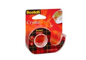 Scotch Lepící páska Crystal 19 mm x 7,5 m