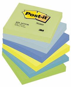 Post-it Samolepící bločky 76 x 76 mm - Snivé barvy