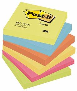Post-it Samolepící bločky 76 x 76 mm - Energické barvy
