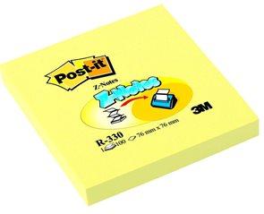 """Post-it Samolepící bloček ve tvaru """"Z"""" 76 x 76 mm - žlutý"""