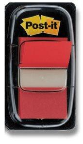 Post-it Záložky  25,4 x 43,2 mm - červené