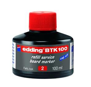 Edding Náhradní náplň pro tabulový popisovač BTK 100 - červená