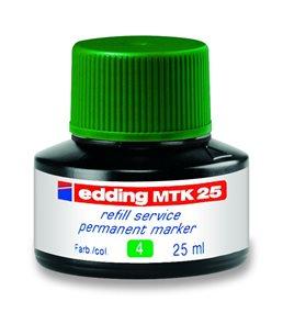 Edding Náhradní náplň pro popisovače MTK 25 - zelená