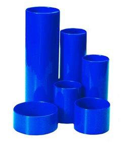 CONCORDE Plastový stojánek 6-dílný kulatý - modrý