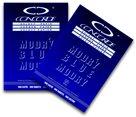 CONCORDE Uhlový papír A4 100 listů - modrý