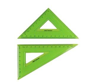 Sada ohebných trojúhelníků 2ks - zelená