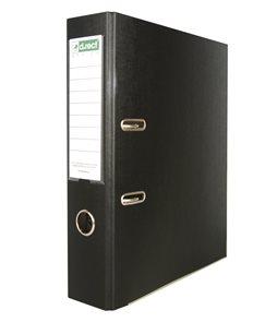 Office Pákový pořadač PVC 7,5cm - černý