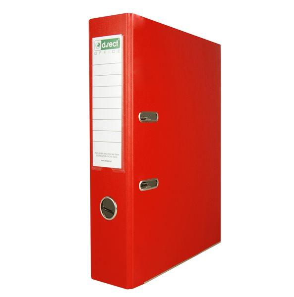 Office Pákový pořadač PVC 5cm - červený
