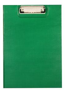 Office Psací podložka s klipem A4 - zelená