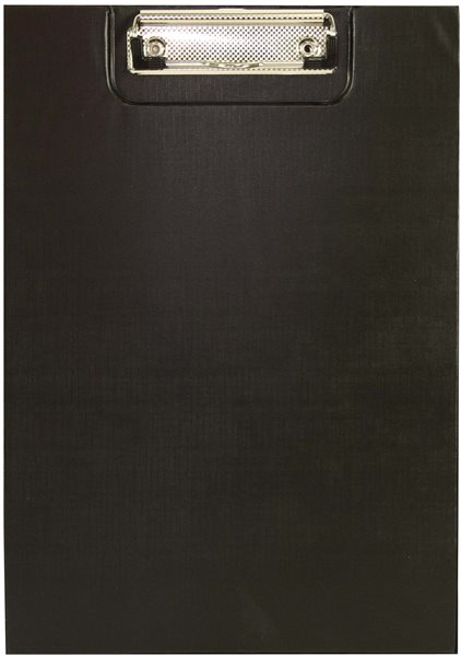 Office Psací podložka s klipem A5 - černá