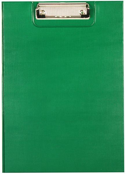 Office Psací podložka s klipem A5 - zelená