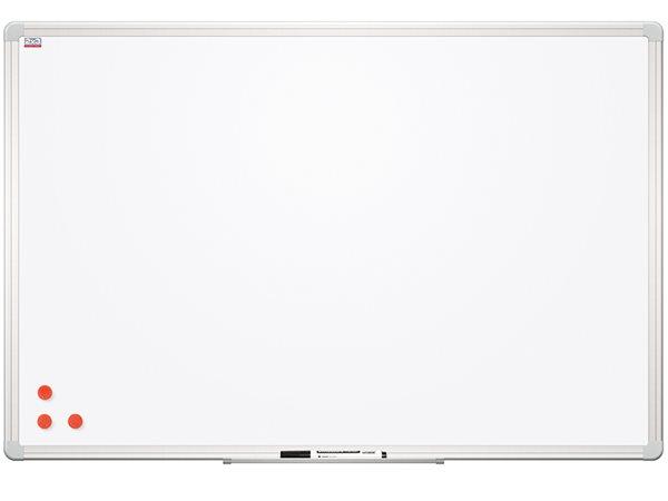 Tabule bílá magnetická s lakovaným povrchem 120 x 180 cm, Doprava zdarma
