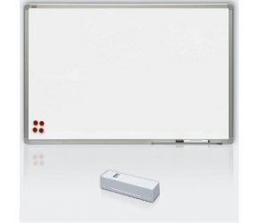 Tabule bílá magnetická s keramickým povrchem - 100 x 200 cm, Doprava zdarma