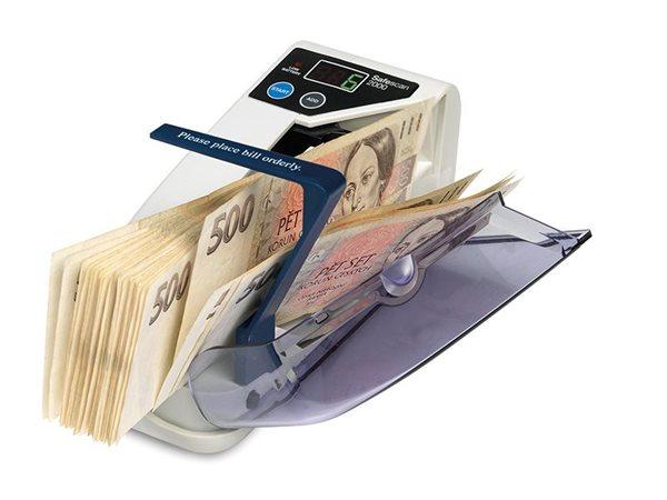 Počítačka bankovek SAFESCAN 2000, Doprava zdarma