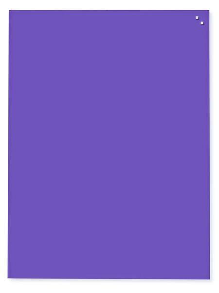 NAGA skleněná magnetická tabule 60 x 80 cm, fialová, Doprava zdarma