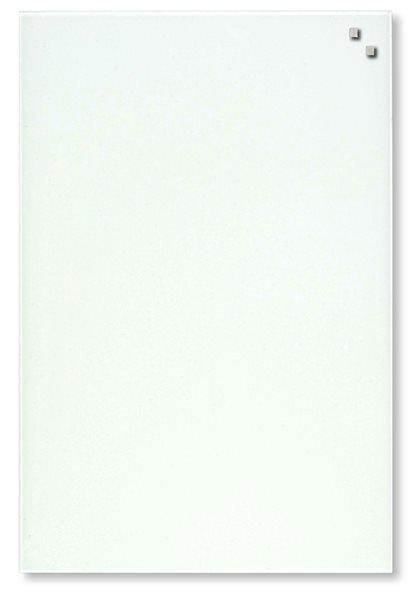 NAGA skleněná magnetická tabule 40 x 60 cm, bílá