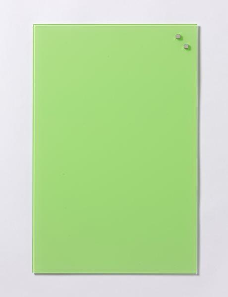 NAGA skleněná magnetická tabule 40 x 60 cm, světle zelená