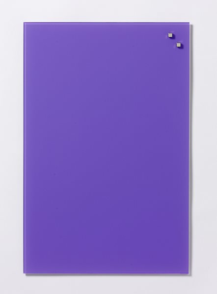 NAGA skleněná magnetická tabule 40 x 60 cm, fialová