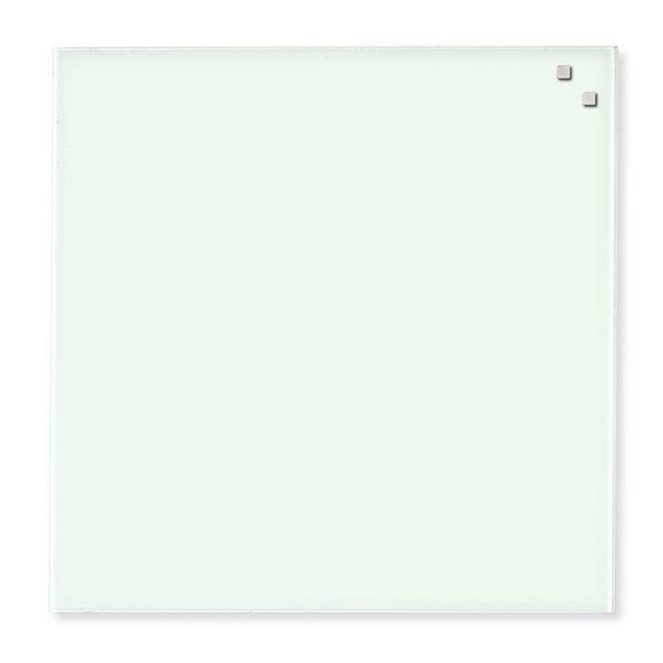 NAGA skleněná magnetická tabule 45 x 45 cm, bílá