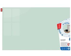 Memoboards Skleněná magnetická tabule 60 × 40 cm, bílá