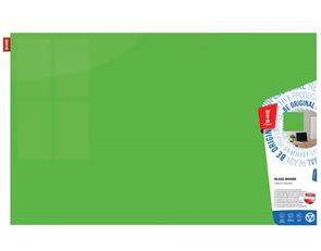 Memoboards Skleněná magnetická tabule 90 × 60 cm, zelená