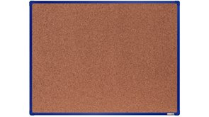 boardOK Korková tabule s hliníkovým rámem 120 × 90 cm, modrý rám