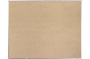 BoardOK Tabule s textilním povrchem 150 × 120 cm, stříbrný rám
