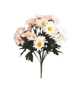 Umělé květiny Kopretiny 36 květů