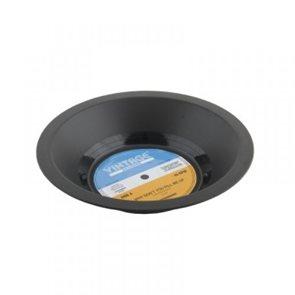 Retro mísa ve tvaru gramofonové desky