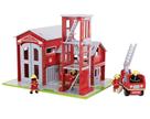 Dřevěný set hasiči