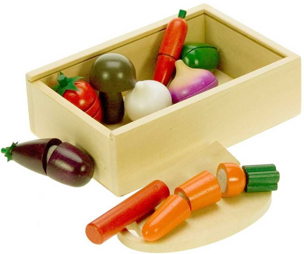 Dřevěná přepravka zeleniny