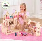 Dřevěná hrací sada Zámek pro princeznu