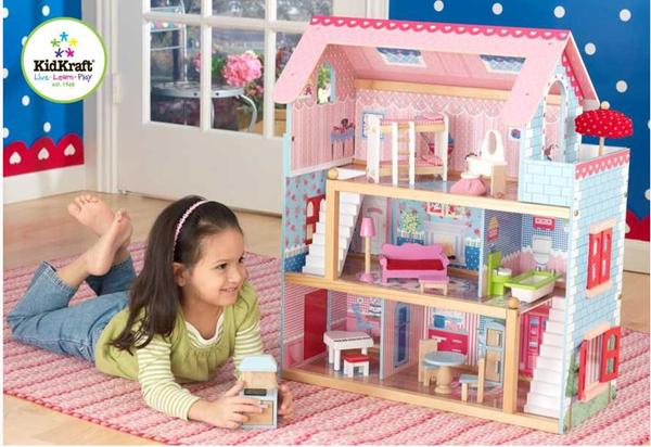Domeček pro panenky Chelsea, Doprava zdarma