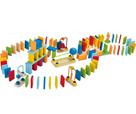 Domino barevné rallye, dřevěné HAPE