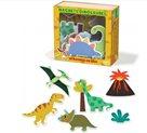 Dřevěné magnetky dinosauři - 20dílků