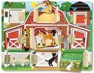 Dřevěné puzzle s dvířky