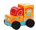 Cirkusový vůz - dřevěná skládačka 5 dílů