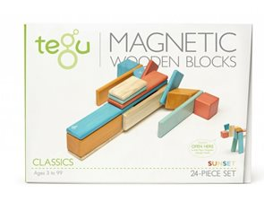Magnetická stavebnice TEGU Sunset - 24 dílů
