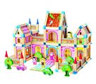 Dřevěná stavebnice Velký zámek, 268 dílků