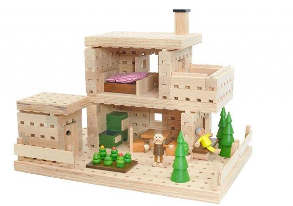 Dřevěná stavebnice Buko - Chata