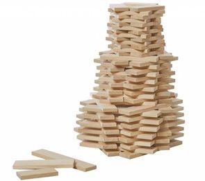 Dřevěné destičky Troxi, 120 dílů