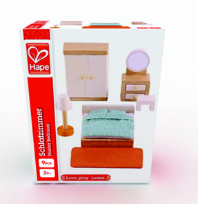 Ložnice - vybavení domečku