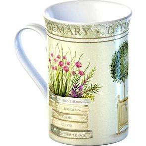 Porcelánový hrnek Topiary