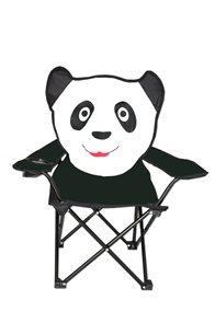 Dětské křeslo černé Panda