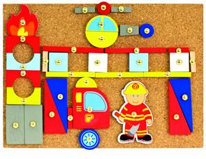 Hra s kladívkem hasiči, 168 dílů