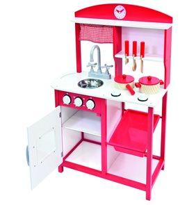 Dětská dřevěná kuchyňka, 6 ks