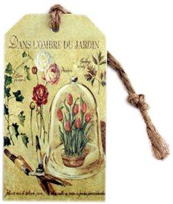 Plechová záložka do knihy Tulipány